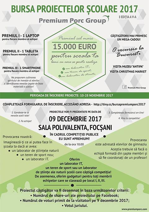 Bursa Proiectelor Scolare 2017