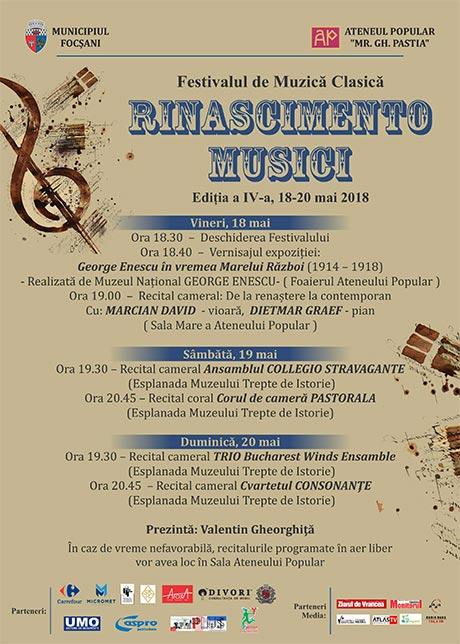 RINASCIMENTO MUSICI - Focsani 2018